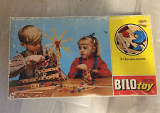 Vintage Wood BILO Toy Set 37 Legos Rare Made In Denmark