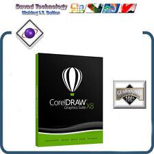 GENUINE CorelDraw Graphics Suite X8 UPGRADE - (PC) NEW RELEASE APRIL 15th 2016