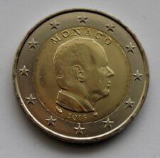 MONACO - 2 € Euro circulation coin  2015 Albert uncirculated