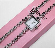 Set Regalo da Donna Henley Watch & Bracciale, pietre lilla e rosa scatola di presentazione
