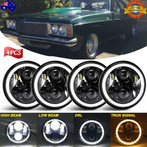 """4pcs 5.75 5-3/4""""inch Round LED Headlight For Holden HQ HK HT HX HZ HJ HG Premier"""