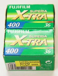 Films Fujifilm Superia X-tra 400 Film 36 Unopened