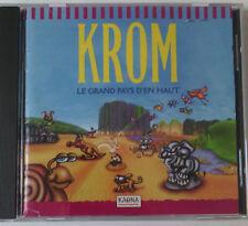 CD  JEUX PC - KROM le pays d'en haut pour PC et Mac - 1997 - Windows 95 ou 3.11