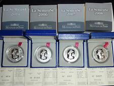 SEMEUSE Argent BE 2004 1.5€  Capsule + Fourreau + Coffret + certificat    RARE