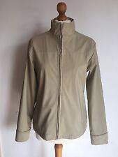 Women's Beige PVC/PU/Polyester Jacket Size 12 Cheap Spring Summer