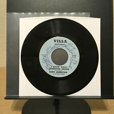 RARE signed Country 45 Record - Gary Jameston and The Happy Guitars - TROUBLES
