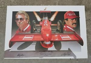 Kenny Youngblood Champions Flight II Signed Poster by Alan Johnson, Gary Scelzi