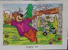 lot 7  Puzzle Yogi Bear Bear from Argentina 1996 in capsule