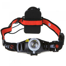 Ultra Bright 400LM LED Zoomable Zoom Headlamp Headlight Head Torch Light Lamp