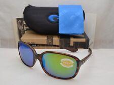 50848302fa1e5 Costa Del Mar RIVERTON (RVT 10 OGMP) Shiny Tortoise with Green Mirror Lens