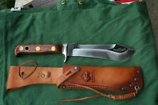 1971 Puma 6399 White Hunter Knife With Jacaranda Handles near perfect to age