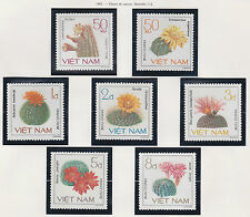VIETNAM N°651/657** FLEURS CACTUS, 1985 Vietnam 1487-1493 Flowers Cactus MNH