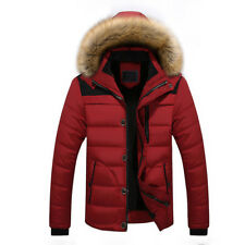 Men Warm Snow Coat Duck Down Hood Climb Ski 8Jacket Hooded Thick Outwear Outdoor