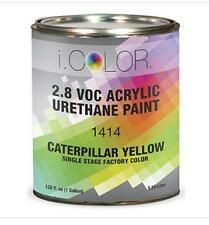 CATERPILLAR YELLOW Gallon Kit Single Stage ACRYLIC URETHANE  Auto Paint Kit