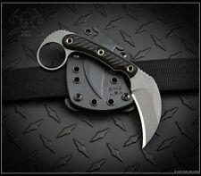RMJ Tactical Knife KORBIN Nitro-V Black G10 Kydex Sheath Authorized Dealer