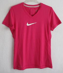 """NIKE """"DRI-FIT""""  Damen  Sportshirt / T-Shirt  ~pink~  Gr. L / 40/42   →NEUWERTIG←"""
