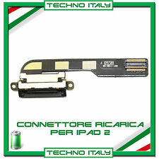 FLAT FLEX CONNETTORE DI RICARICA DOCK CARICA DOCKING PER APPLE IPAD 2