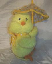 Avon 2012 Raindrops Keep Falling Animated Chick Plush Soft Toy Stuffed Animal