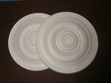 Decorators Bargain - 2 x Polystyrene Ceiling Rose 400mm^^^ FREE P&P Shop Soiled