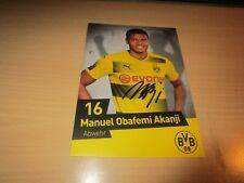Manuel Obafemi Akanji Borussia Dortmund, BVB 2017/18 17/18 NEU !!! NACHDRUCK !!!