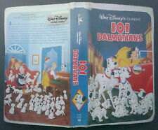 VHS tape black diamond classic 101 DALMATIANS model 1263