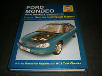 Haynes Manual Ford Mondeo 1993 to 1999 K to T reg Petrol