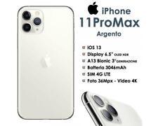 Apple iPhone 11 Pro Max 256GB Silver Bianco Ex Demo Nuovo