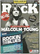 Classic Rock Magazine Malcolm Young FEB 2018 +CD
