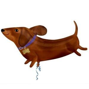 Dachshund/Sausage Dog Supershape Foil Balloon