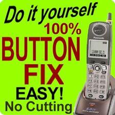 Button Repair > Panasonic Keypad Kx-Tga550 Kx-Tga550M Kx-Tg5571M Kx-Tg5576M