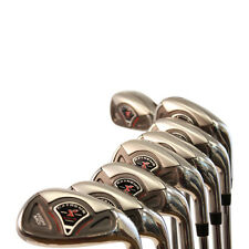 +4 BIG TALL MENS Golf Clubs Iron Hybrid Ibrid TAYLOR FIT 4-SW LENGTH JUMBO GRIPS