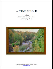 AUTUMN COLOUR - CROSS STITCH CHART