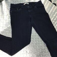 Levis Women's Denim Curvy Size 16 Reg Super Skinny Dark Wash Cotton Blend 5th