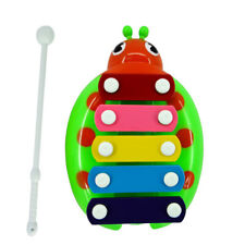 10pcs Baby Toy Music Instrument Beetle Children Kids Musical Educational Green