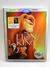 Disney The Lion King (Blu-ray,DVD,Digital HD 2017,Circle of Life Edition) SEALED