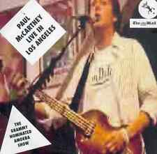 PAUL MCCARTNEY: LIVE IN LOS ANGELES - UK PROMO CD ALBUM (2007) / AMOEBA SHOW