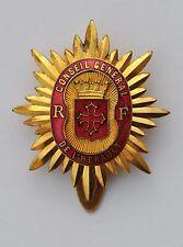 Insigne de fonction: Conseil Général de l'Hérault