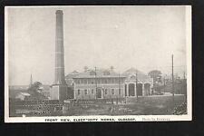 Glossop Electricity Works - Front View - printed postcard