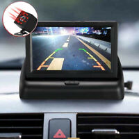 "4.3"" Folding LCD Monitor LED 170° IR Reversing Camera Car Rear View For Truck"