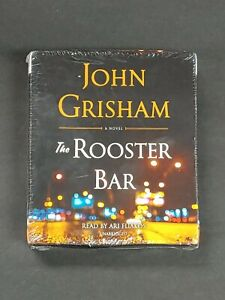 The Rooster Bar by John Grisham (2017, Compact Disc, Unabridged edition) audio