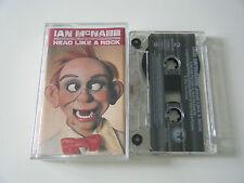 IAN MCNABB - HEAD LIKE A ROCK - CASSETTE TAPE - PHONOGRAM (QUICKSILVER) 1994