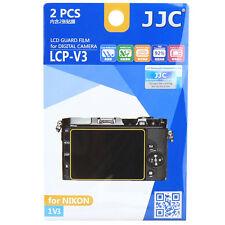 JJC LCP-V3 LCD Guard Film Camera Screen Display Protector for NIKON 1 V3