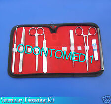 Veterinary Dissecting Kit Surgical Instruments
