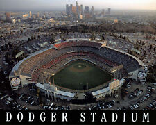 L.A. Dodgers Stadium (exterior), 8x10 Color Photo