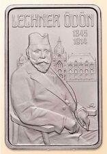 Hungary 2000 forint 2014 Lechner Odon Art Nouveau Architect Rectangular Coin BU