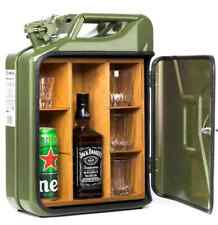 stag man cave present red jerry can bar //mini bar// camping drinks carrier