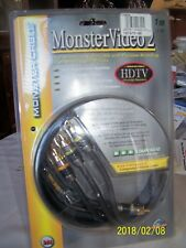 Monster Cable Monster Video 2 -1M (3.3 ft) High Performance RCA Connection