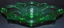 Grünes Pressglas Schale~Art Deco~Top !