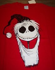 A NIGHTMARE BEFORE CHRISTMAS JACK SKELETON AS SANTA T-Shirt XL NEW w/ TAG