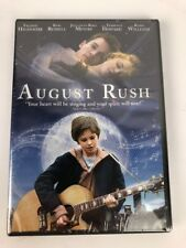 August Rush (DVD) Freddie Highmore Robin Williams Fast Free 1st Class Shipping